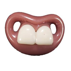 Chupetes Dientes - Chupete Ñajai (Sin Anilla) - Two Front Teeth Pacifier Billy Bob