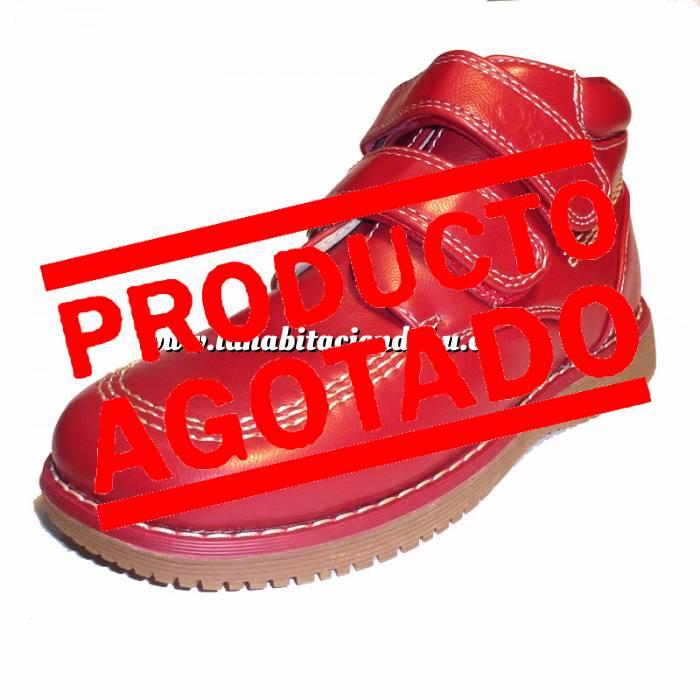Imagen Rojo BTIN Botín niño en piel Rojo Talla 33