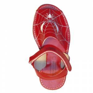Imagen Spiderman Avarca - Menorquina piel niño Spiderman Talla 31